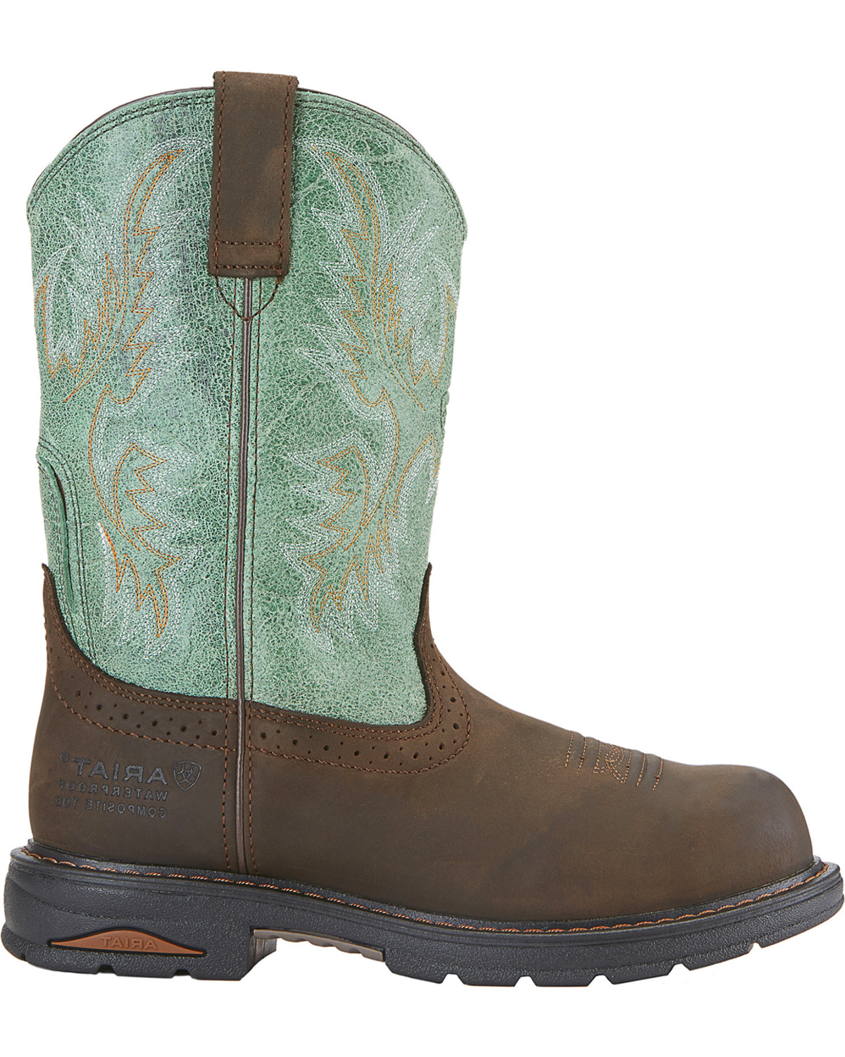 Ariat Tracey Pull-On Composite Toe(Women's) -Dusted Brown Full Grain Leather Low Price Fee Shipping Store Sale With Paypal Sale Online Buy Cheap Cheapest Price yGpxMmCQpf