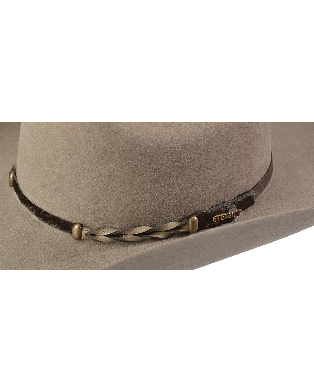Stetson Stone Portage 4X Buffalo Felt Cowboy Hat  a09d4b585aa