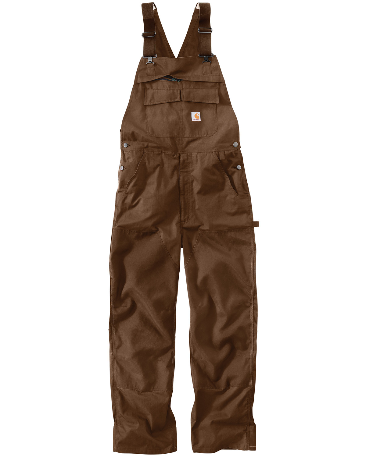 Carhartt Extremes 174 Dark Brown Force Bib Overalls Sheplers
