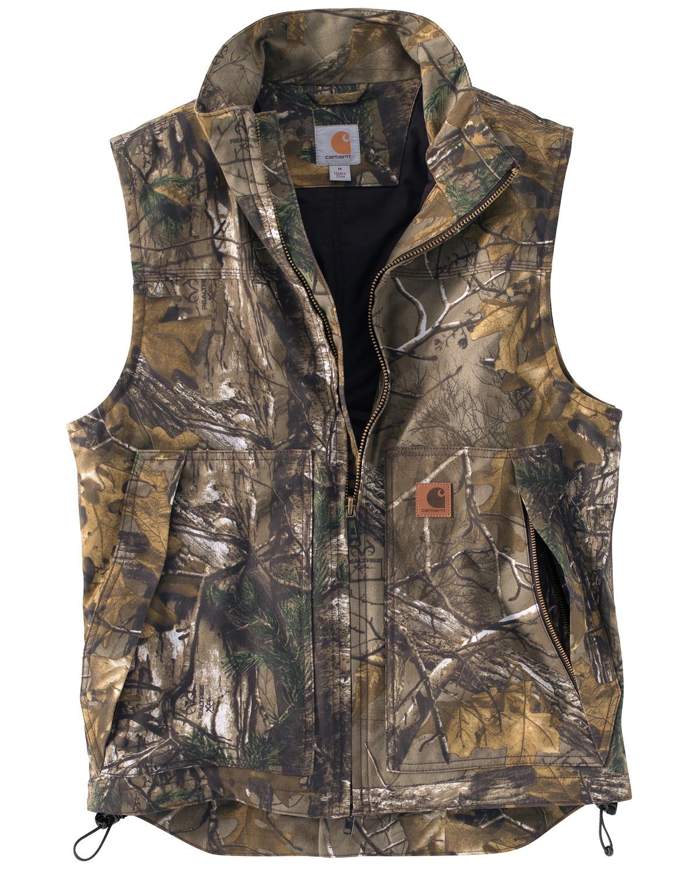 Carhartt Men S Quick Duck Camo Vest Sheplers