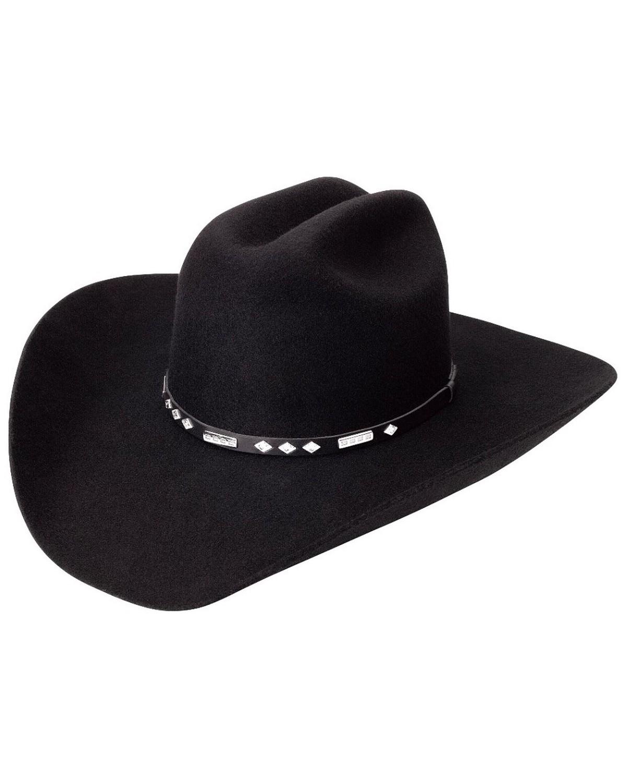 Stetson Mens Sturgis Pinch Front Crushable Wool Felt Hat a19588cd88a8