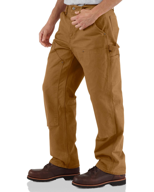 carhartt double front work dungaree pants sheplers. Black Bedroom Furniture Sets. Home Design Ideas