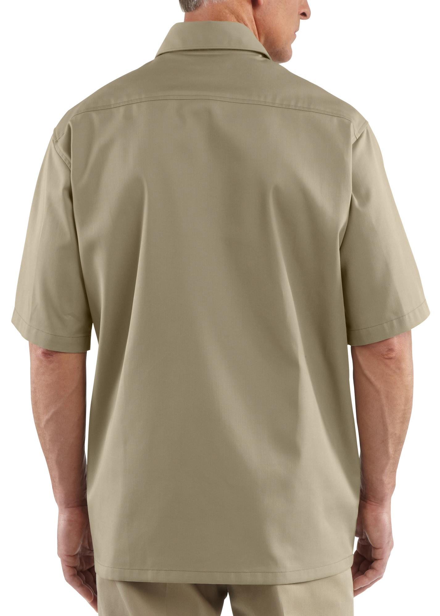 Carhartt twill work short sleeve work shirt big tall for Carhartt work shirts tall