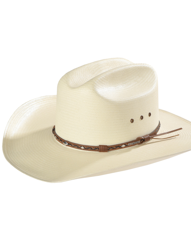 Stetson 8X Ocala Wide Brim Straw Hat  2d29cb6b653