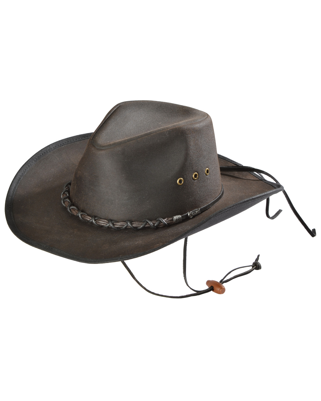27e42b7626eff Outback Trading Bootlegger Oilskin Hat