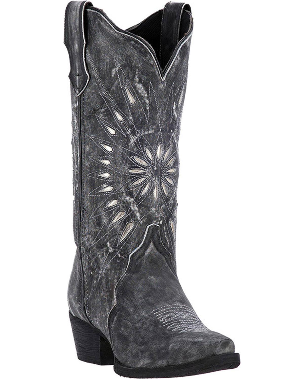 Laredo Women's Silver Starburst Cowgirl