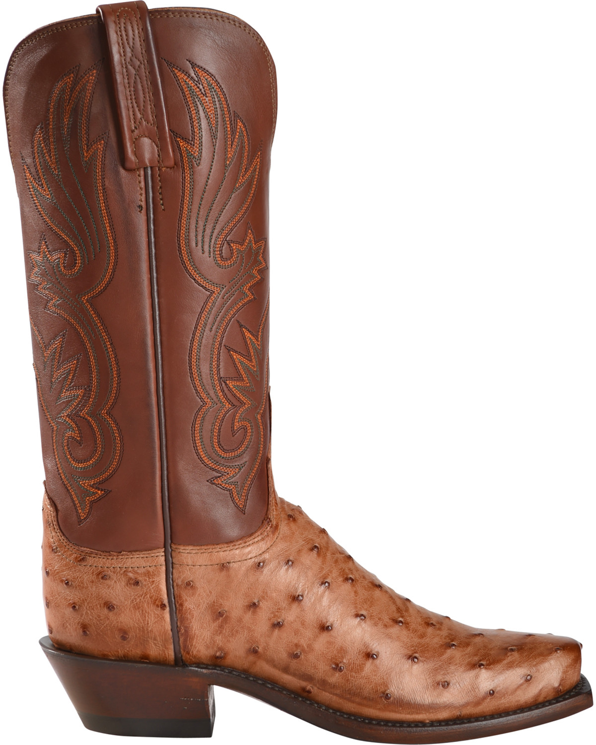 Lucchese Women S Handmade Brown Dolly Full Quill Ostrich