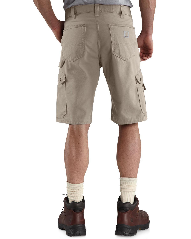 Carhartt Ripstop Cargo Work Short Desert Mens Rugged Workwear