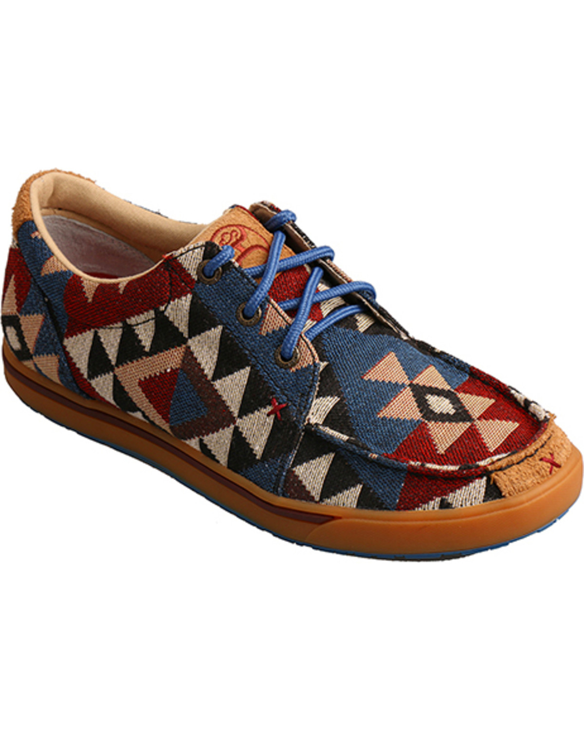 Graphic Pattern Canvas Shoes | Sheplers