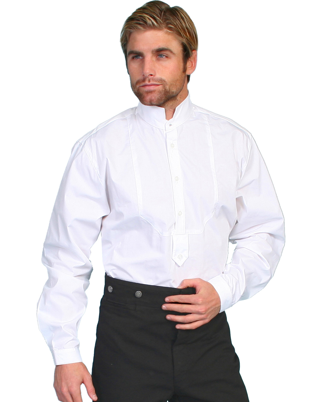 Wahmaker By Scully High Collar Long Sleeve Shirt Big Tall Sheplers