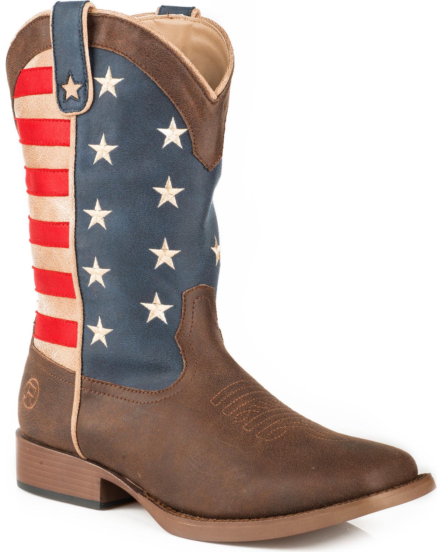 Roper Women's American Patriot Stars \u0026