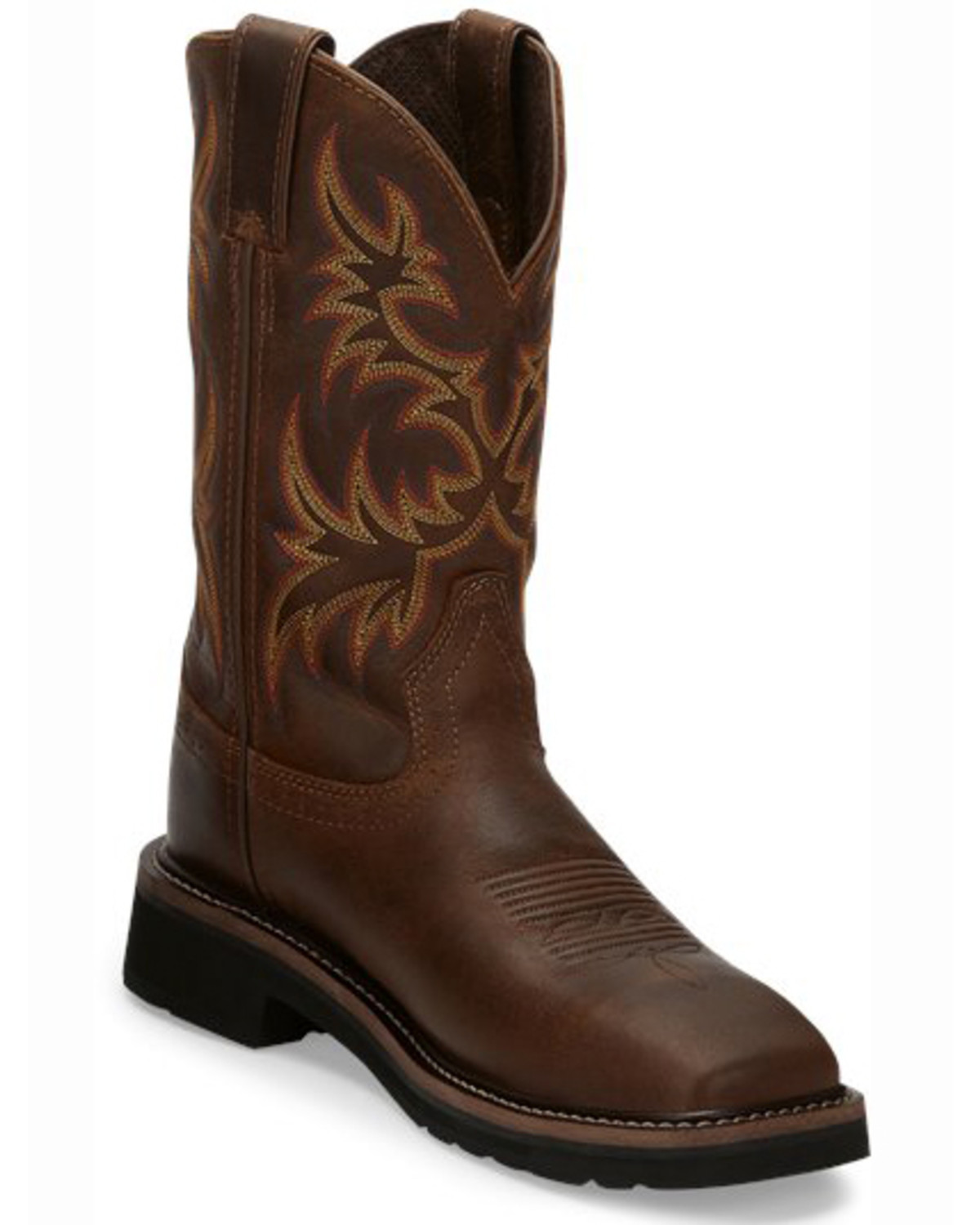 Justin Women S Sunney Pull On Eh Work Boots Steel Toe