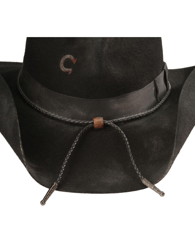 9370811a447f6 Charlie 1 Horse Dusty Desperado 3X Wool Hat