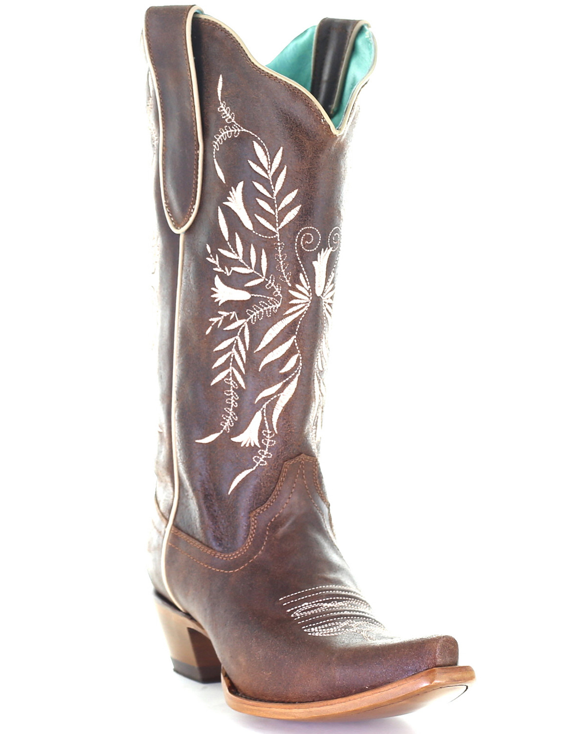 Corral Women's Brown Embroidery Western