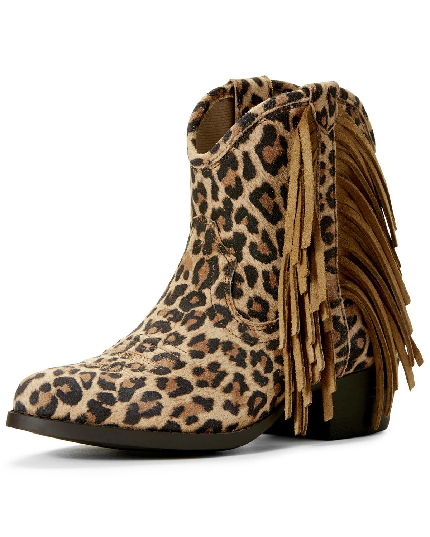leopard cowboy booties