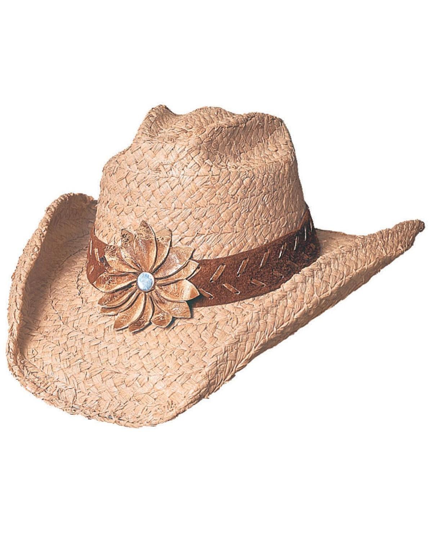 Bullhide Sunset Braided Raffia Straw Cowgirl Hat   Sheplers