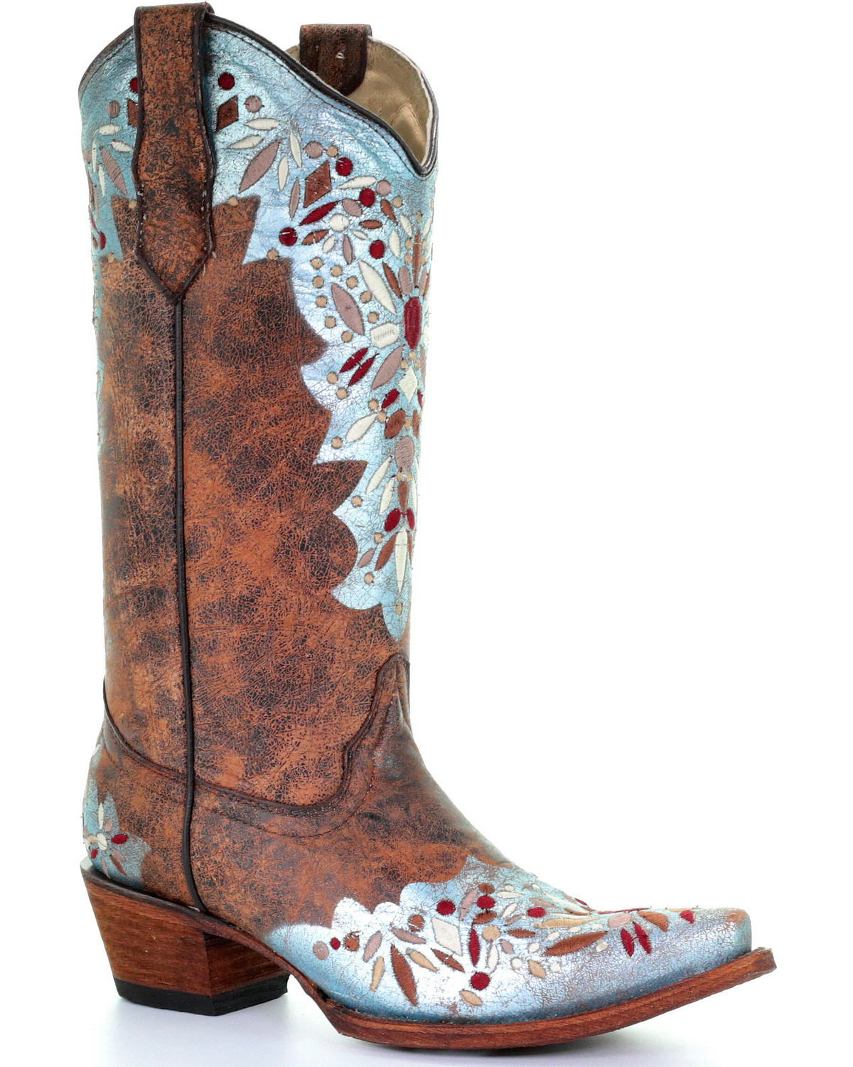Light Blue Cowgirl Boots