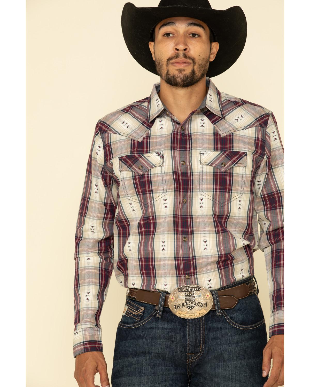 Cody James Men S Las Cruces Large Plaid Long Sleeve Western Shirt Sheplers