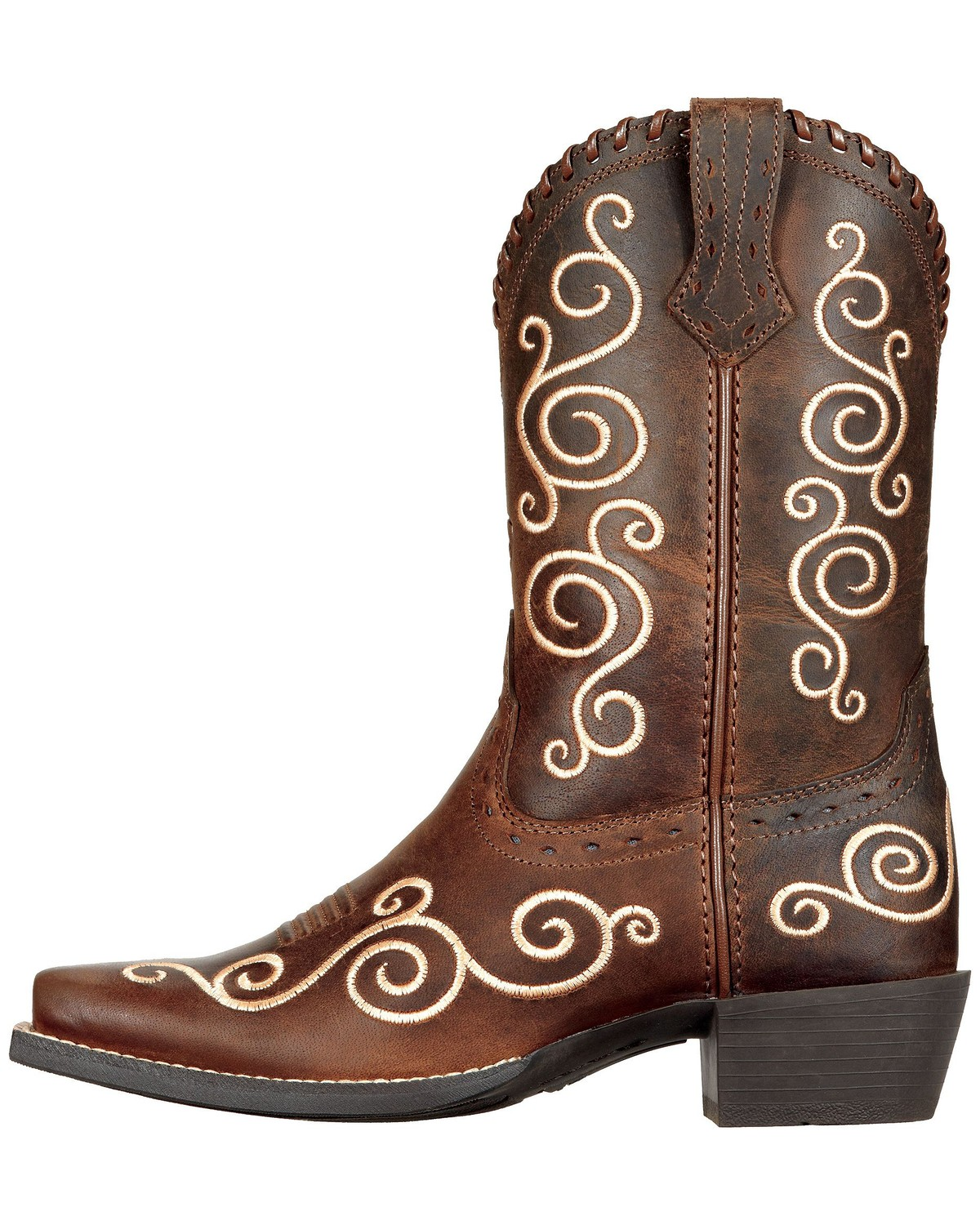 Ariat Youth Girls' Shelleen Cowgirl Boots - Snip Toe | Sheplers