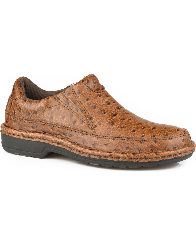 Roper Slip On Shoes Tan