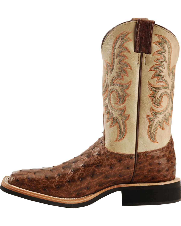 Elegant Justin Bent Rail Cowboy Boots - Square Toe | Sheplers