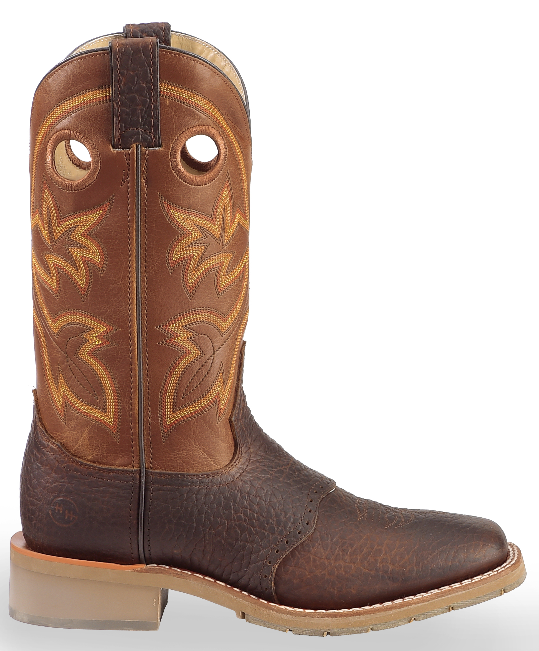 Double H Canyon Rust Saddle Vamp Western Work Boots