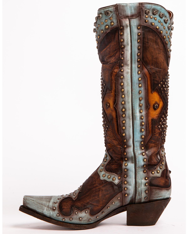 Dan Post Women S Brown Natasha Boots Snip Toe Sheplers