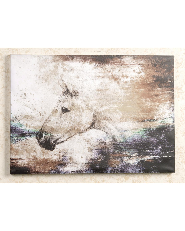 BB Ranch Sketch Horse Wall Decor, No Color, Hi Res