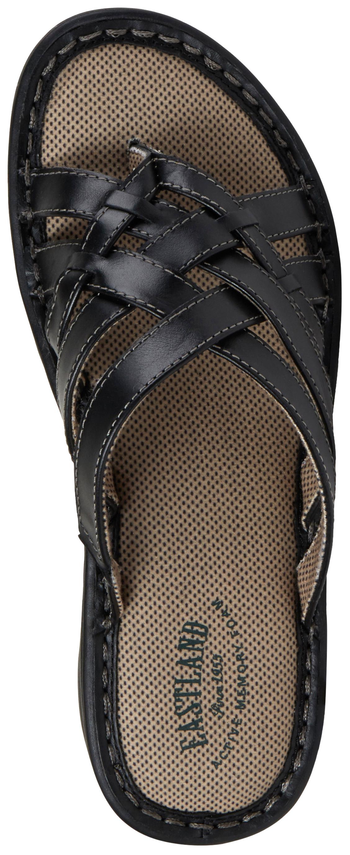 Eastland Women S Black Lila Thong Sandals Sheplers